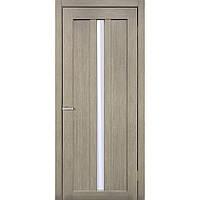 """Дверь межкомнатная остекленная """"Римини экошпон"""" сосна мадейра"""