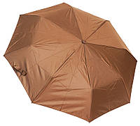 Однотонный женский зонт F310SL coffee, фото 1