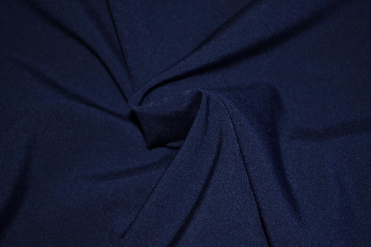Софт-стрейч темно синий