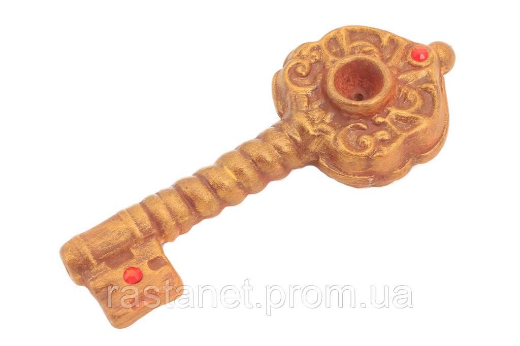 """Трубка  """"Золотой Ключик"""". 16,5 см."""
