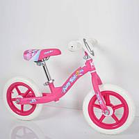 Беговел детский B-3 Pink (12дюймов).