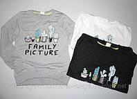 Свитшот кофта для девочек Glo-Story Family (разные цвета)