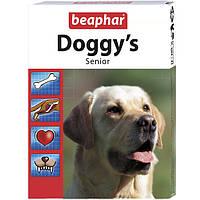Витаминное лакомство для пожилых собак Бефар Сеньйор Доггис Beaphar Doggy's Senior 75 табл.