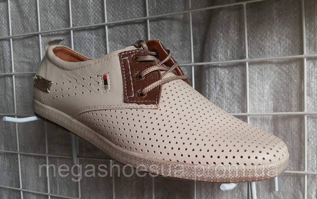a777474c0912 Мужские туфли летние YDG Bellini 7170 с натуральной кожи - Интернет-магазин  украинской обуви MegaShoes