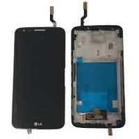 Дисплейный модуль с сенсором в рамке LG G2 D800 D801 D803 LS980 D802 D805 VS980