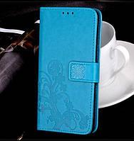 Чехол книжка - кошелек для телефона UMI RoME X  голубая