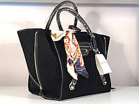 Комфортная женская сумка Balenciaga замша