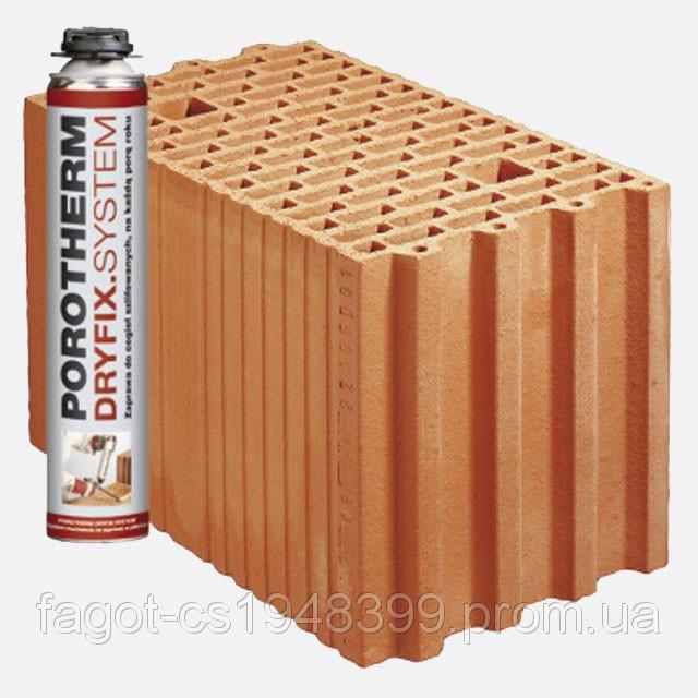 Керамический блок Porotherm 25 DS Dryfix