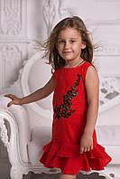 "Платье на девочку ""Цветок""  № 908 е.в"