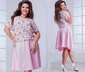 Рубашка женская 48+  арт 53374-160