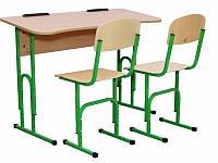 Комплект школьной мебели регулируемый (№4-6), антисколиозный