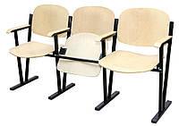 Кресло для актового зала 4-х местное (гнутая фанера)