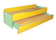 Кровать детская 2-ярусная, без матраса