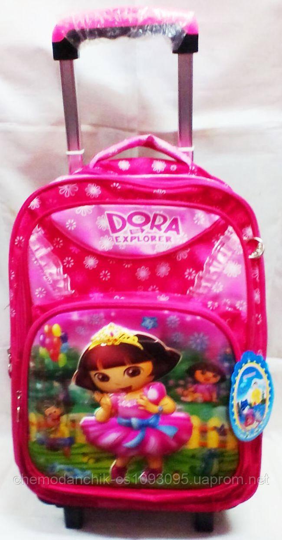 Рюкзак на колесиках с розовым бегемотиком для чего нужны отверстия на дне рюкзака