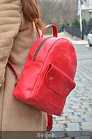 """Рюкзак Urban Red из натуральной кожи """"Crazy Horse"""""""