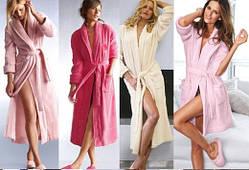Халаты женские, пижамы, ночные рубашки, пеньюары