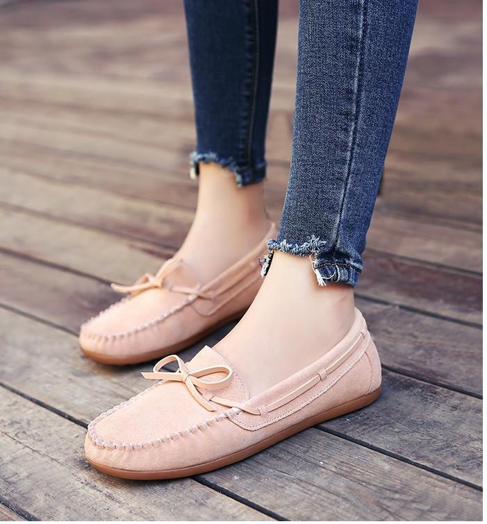 216531f15575 Замшевые туфли c ажурным бантиком