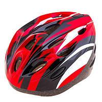 Шлем (велошлем) защитный от падений взрослый AFULT 502 (красный)