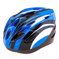 Шлем (велошлем) защитный от падений взрослый AFULT 502 (синий)