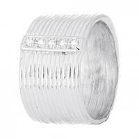 Кольцо из серебра Виорика с фианитами 000030983