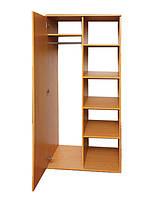 Шкаф полузакрытая для одежды и книг (глубина 519мм)