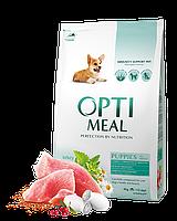 Optimeal Puppy All Breed 4кг- корм для щенков с индейкой