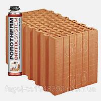 Керамический блок Porotherm 38 DS Dryfix, фото 1