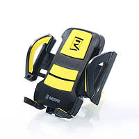 Автодержатель в решетку Remax RM-C13 Black-Yellow