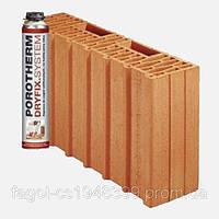 Керамический блок Porotherm 44 1/2 DS Dryfix, фото 1