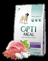 Optimeal Small Adult Dog 12кг - корм для собак мелких пород с уткой