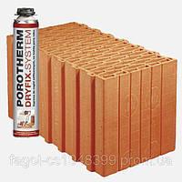 Керамический блок Porotherm 44 Eko+ Dryfix, фото 1