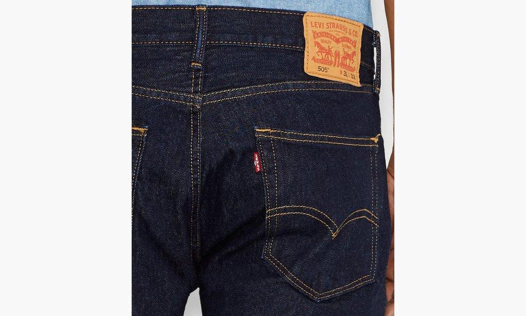 Джинси Levis 505 jeans Rinse