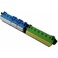 Держатель с клеммами PE и N для 4-рядных (21xn + 20pe 3xn + 6pe ) Hager VZ464