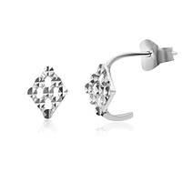 Серебряные серьги Эссен 000035309