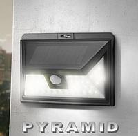 Светодиодный светильник на солнечной батарее с датчиком движения ARILUX  44 Led AL-SL11 3 режима Пирамида