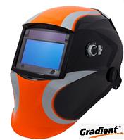 Сварочная маска Хамелеон Gradient WH 997 черно-оранж. профессиональная с 4-мя сенсорами