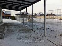 Забор из сварной сетки  Дуос 5*5*5 3*1.63