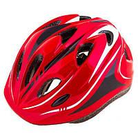 Шлем (велошлем) защитный от падений взрослый ADULT 503 (красный)