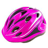Шлем (велошлем) защитный от падений взрослый ADULT 503 (розовый)