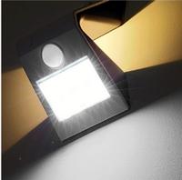 Светильник на солнечной батарее с датчиком движения 9 LED Вutterfly AL-SL08