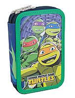 """Пенал - книжка Turtles 531386, ТМ """"1 Вересня"""""""