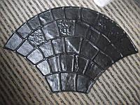 """Полиуретановый штамп для бетона """"Веер"""", для дорожек, пола, стен"""