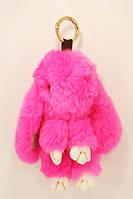 "Брелок мягкий ""Кролик"" 18см розового цвета"