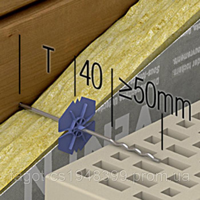 Гибкая связь анкер Welltec Ø 4 mm