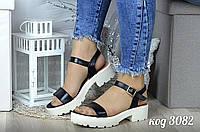 Модные сандалии  из натуральной кожи