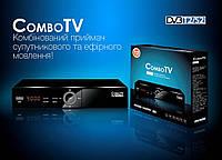 Спутниковый HD ресивер Romsat Combo TV DVB-T2/S2/C