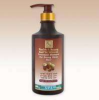 Шампунь для укрепления и блеска волос с аргановым маслом