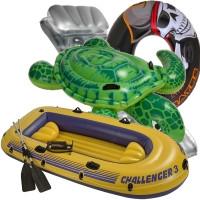 Надувные круги матрацы лодки