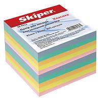 Блок бумаги для записей, не клееная, цветная 800л