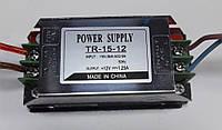 Блок питания для LED лент на 12V / OEM DC12 15W 1,25А TR15-12